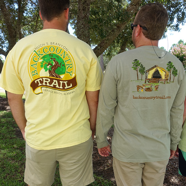 Backcountry Trail T-shirt Styles
