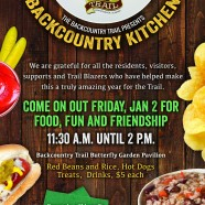 Backcountry Kitchen Benefit